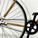 Vélo fixie en bambou bamboocycle