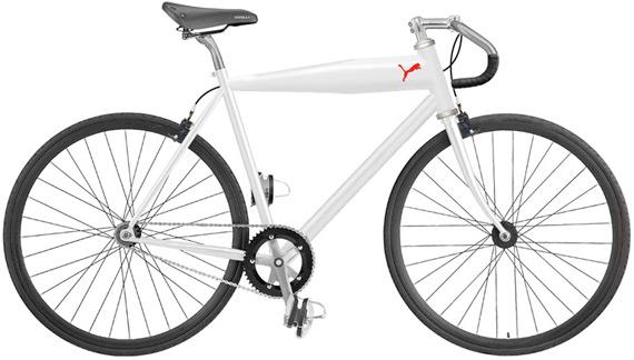 Vélo fixie puma blanc
