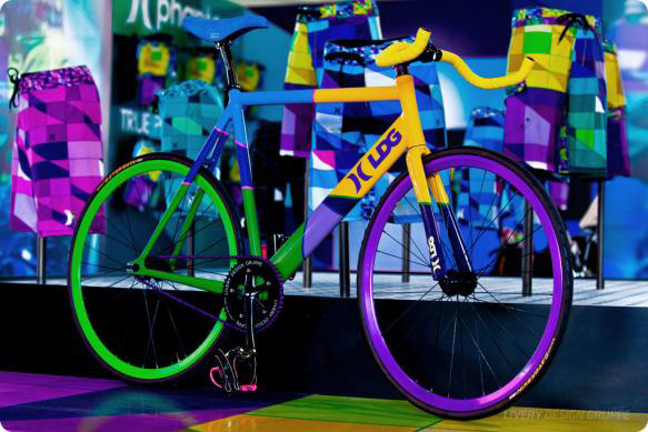 fixie technicolor Hurley surf