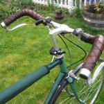 retro cuir vélo
