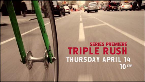télé réalité fixie triple rush