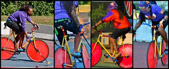 bike polo protection roue