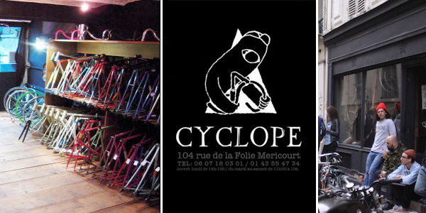 cyclope fixie shop paris