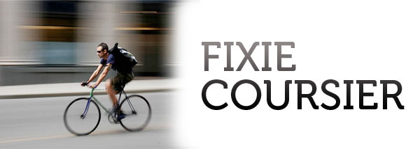 coursier fixie messenger