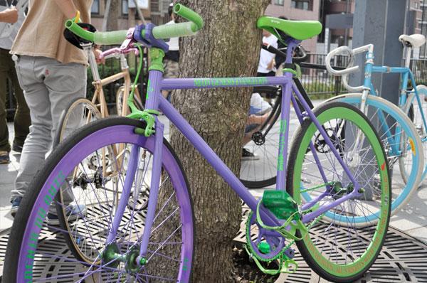 fixie violet vert