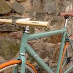 guidon en bois de bambou woodOOcycles pignon fixe