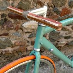 guidon en bois de bubinga érable jatoba woodOOcycles fixie