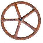 roue fixie batons aerospoke bois