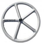 roue fixie batons aerospoke graphique