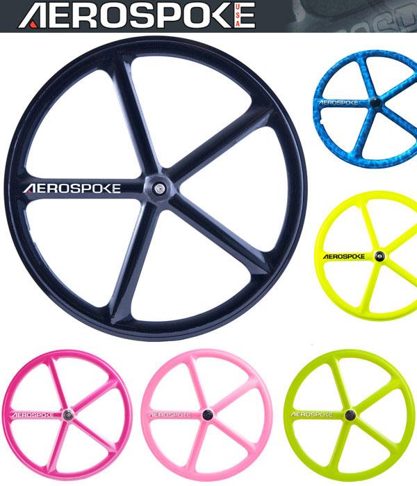roues à batons fixie aerospoke