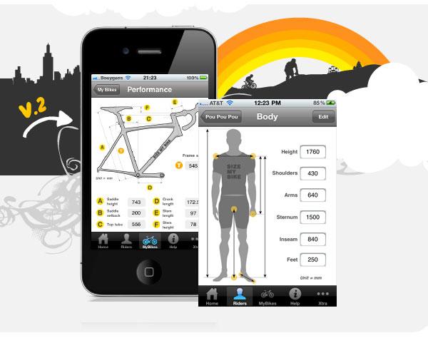 choix du cadre fixie iPhone