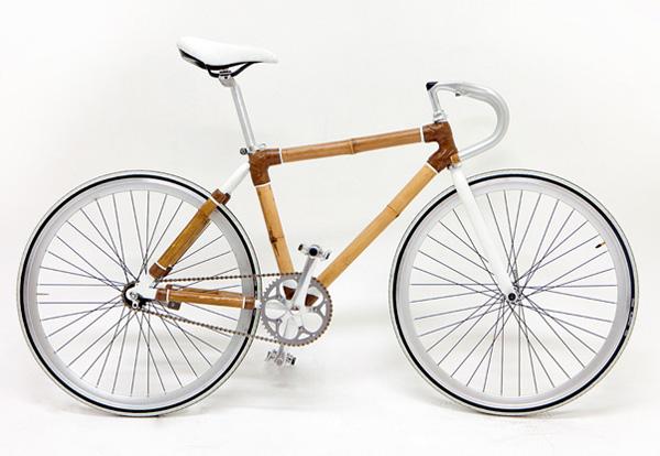 fixie bambou bois
