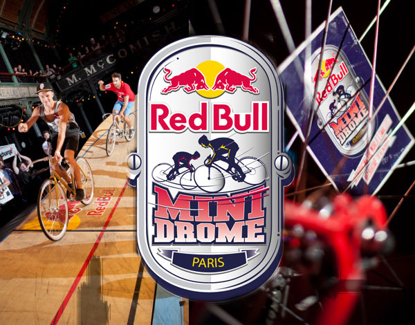 Red Bull fixie paris mini drome