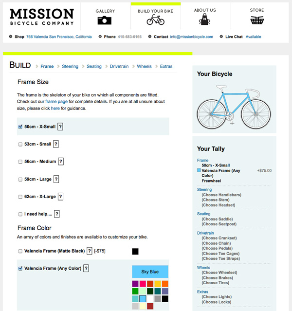 screen mission fixie