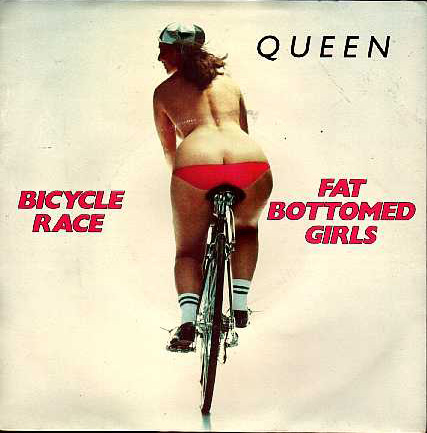 queen fat bottomed fixie