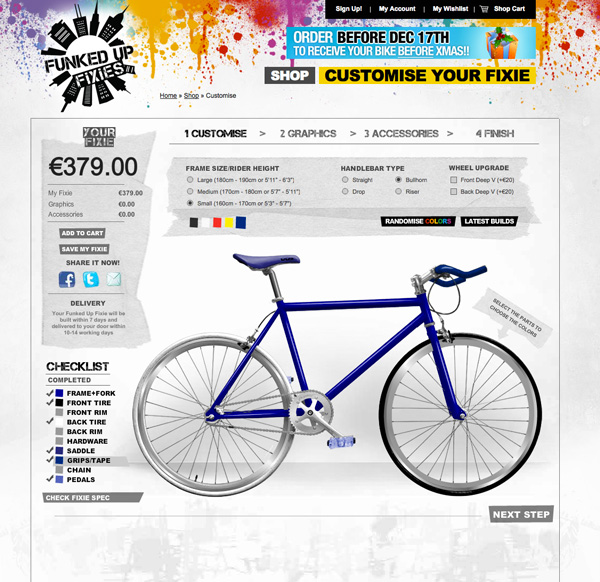 funked fixie uk