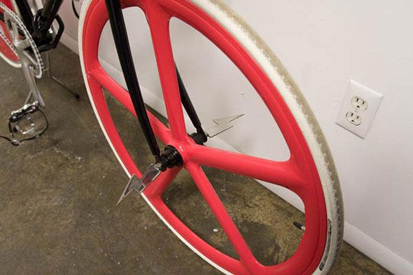 roue  fixie lames