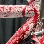 cadre fixie sanglant