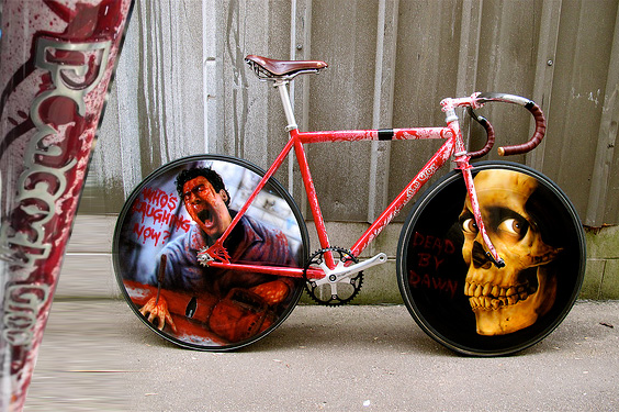 fixie customise evil dead