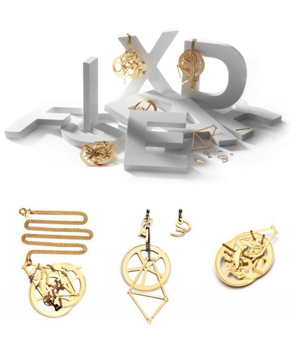 bijoux en forme de pièces de vélo Zlda