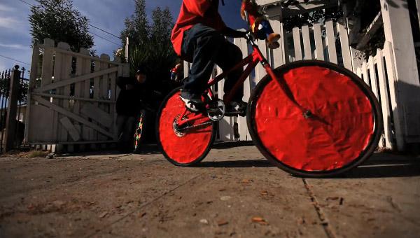 décoration roues scraper bikes