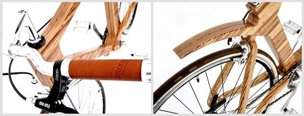 vélo cadre bois