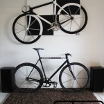 Tableau fixie noir et blanc balcksheep