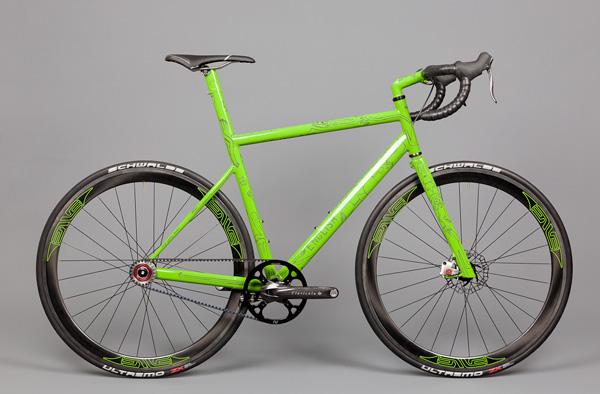 vélo-vert-mono-vitesse
