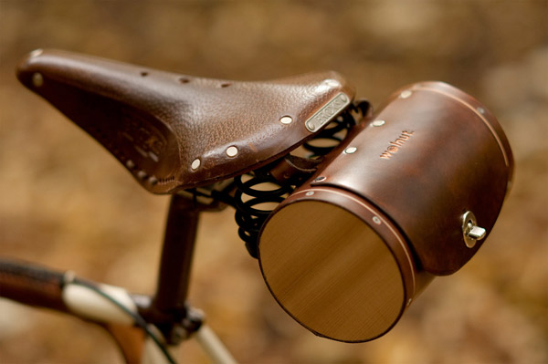 walnut sacoche vintage vlo fixie