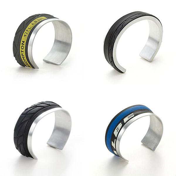 Bracelets en pneus de vélo fixie