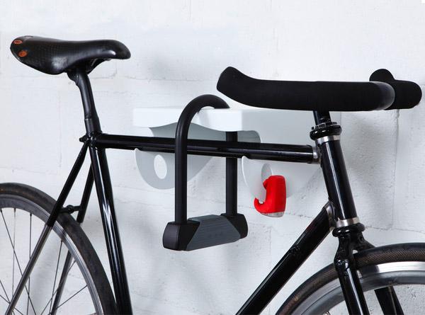 Rangement fixie MAMA bike rack avec antivol