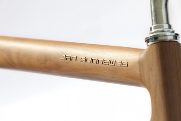 Singlespeed cadre en bois