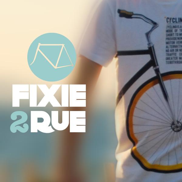 Fixie2rue.fr tee-shirt