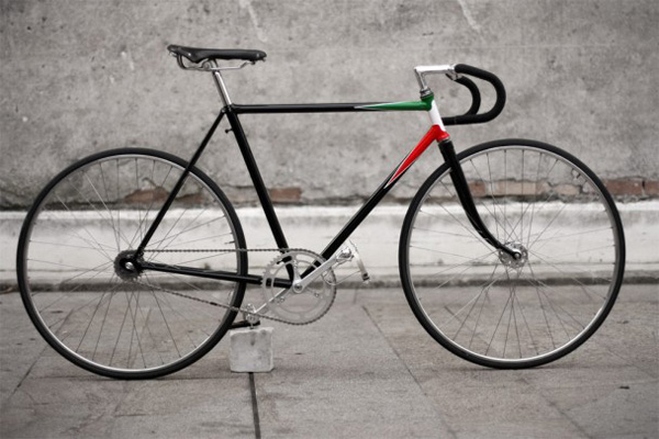 fixie italien cadre Umberto Dei