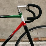 fixie italien cadre couleur de l&#039;Italie