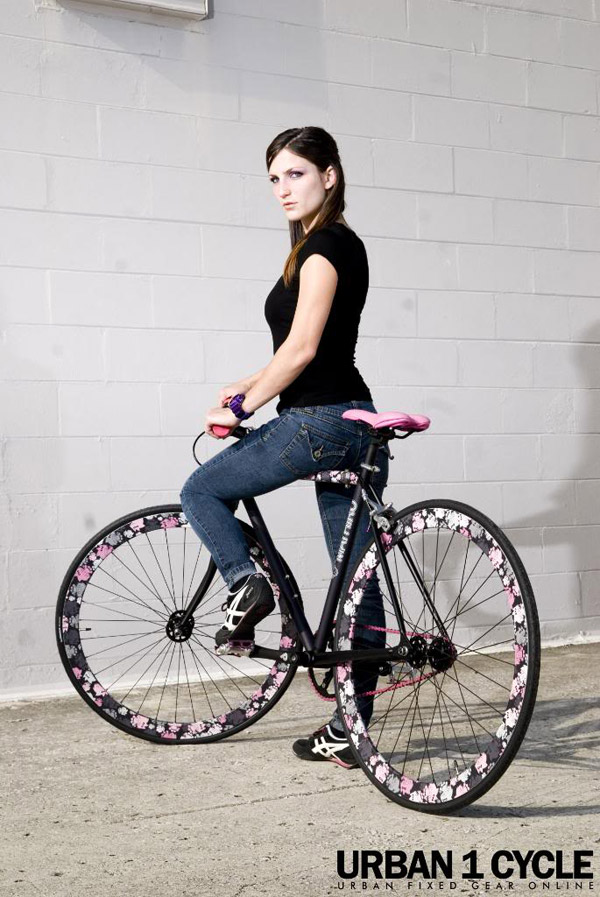 fille sexy  fixie