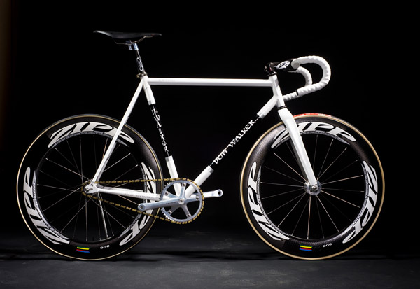 fixie blanc Don Walker