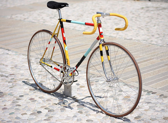 fixie-coloré